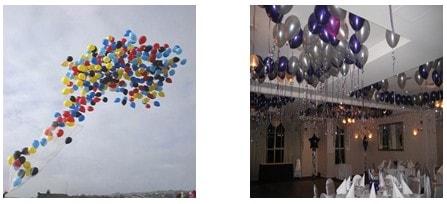 toplu uçan balon bırakma